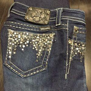 Miss me bootcut jeans size 27L